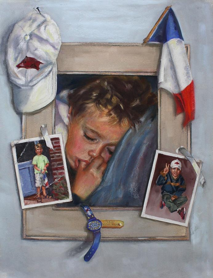 France Painting - Leo by Vicki Ross