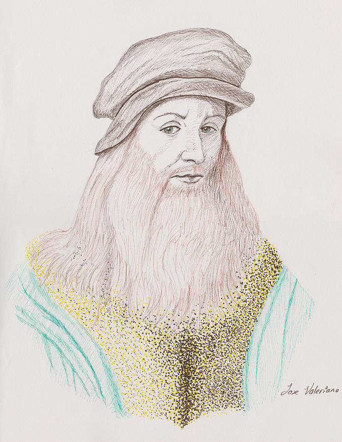 Leonardo Davinci by M Valeriano
