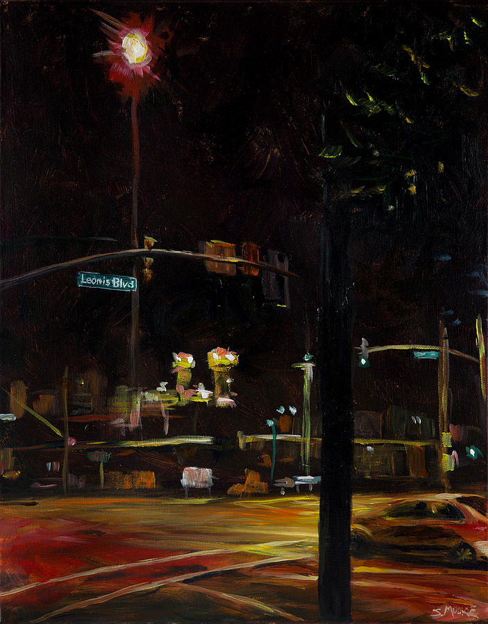 Leonis Blvd Painting by Susan Moore