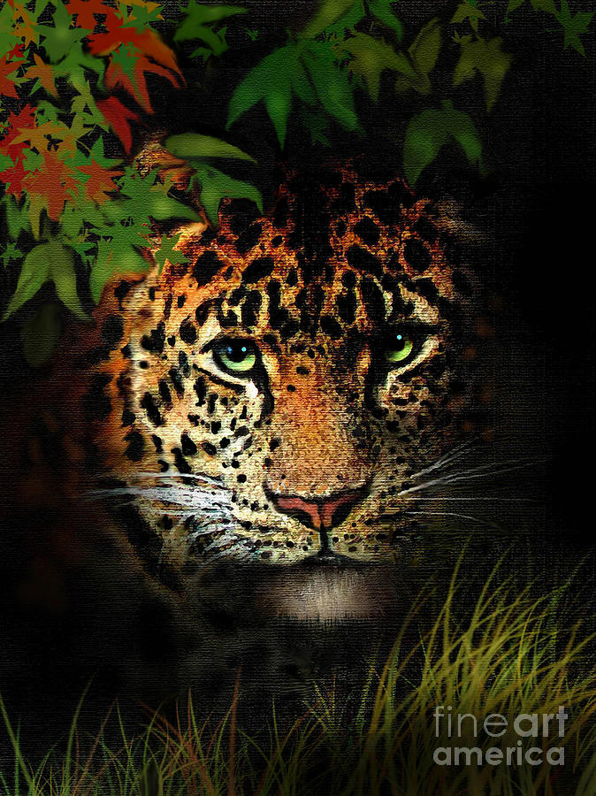 Leopard Painting - Leopard by Robert Foster