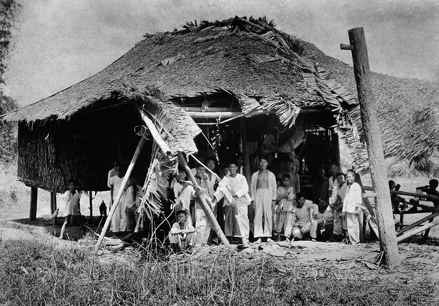 1900s Photograph - Lepers In The Philippines by National Library Of Medicine