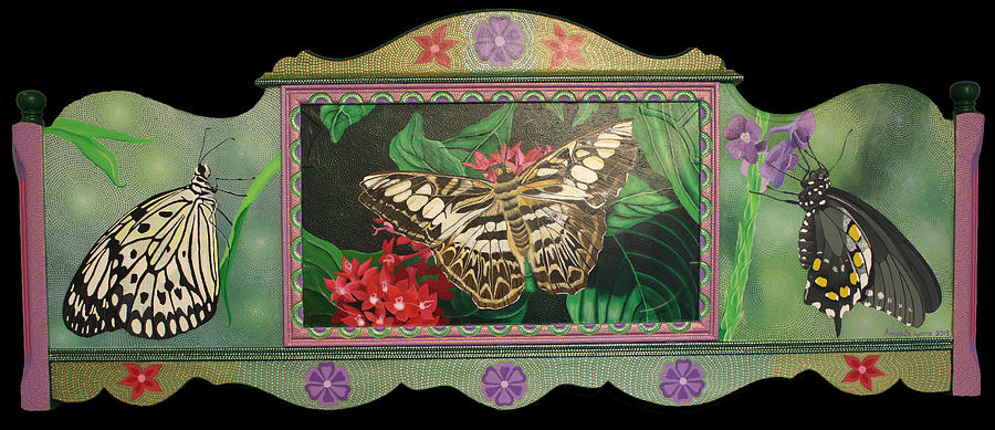 Lepidopterous Triptych by Amanda  Lynne