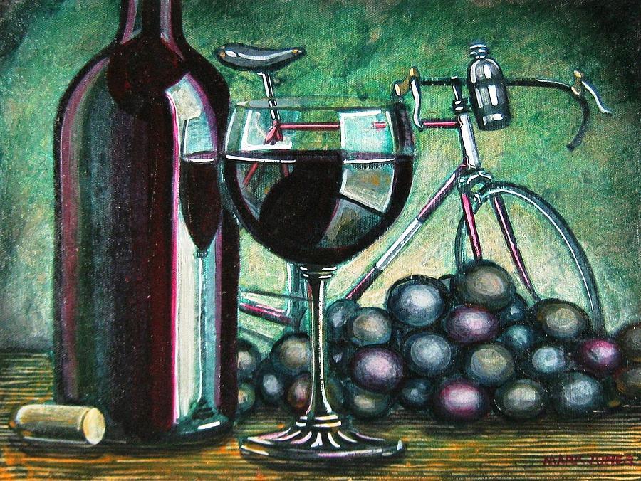 Still Life Painting - Leroica Still Life by Mark Jones