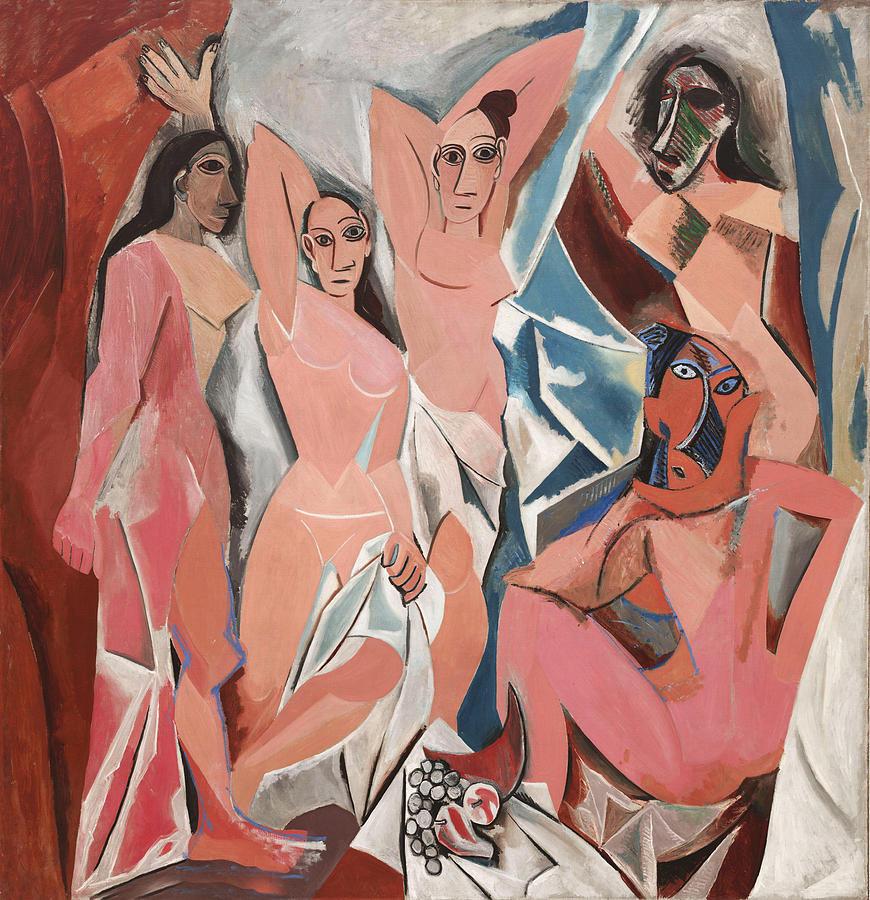 Les Demoiselles D Avignon Photograph - Les Demoiselles D Avignon by Pablo Picasso