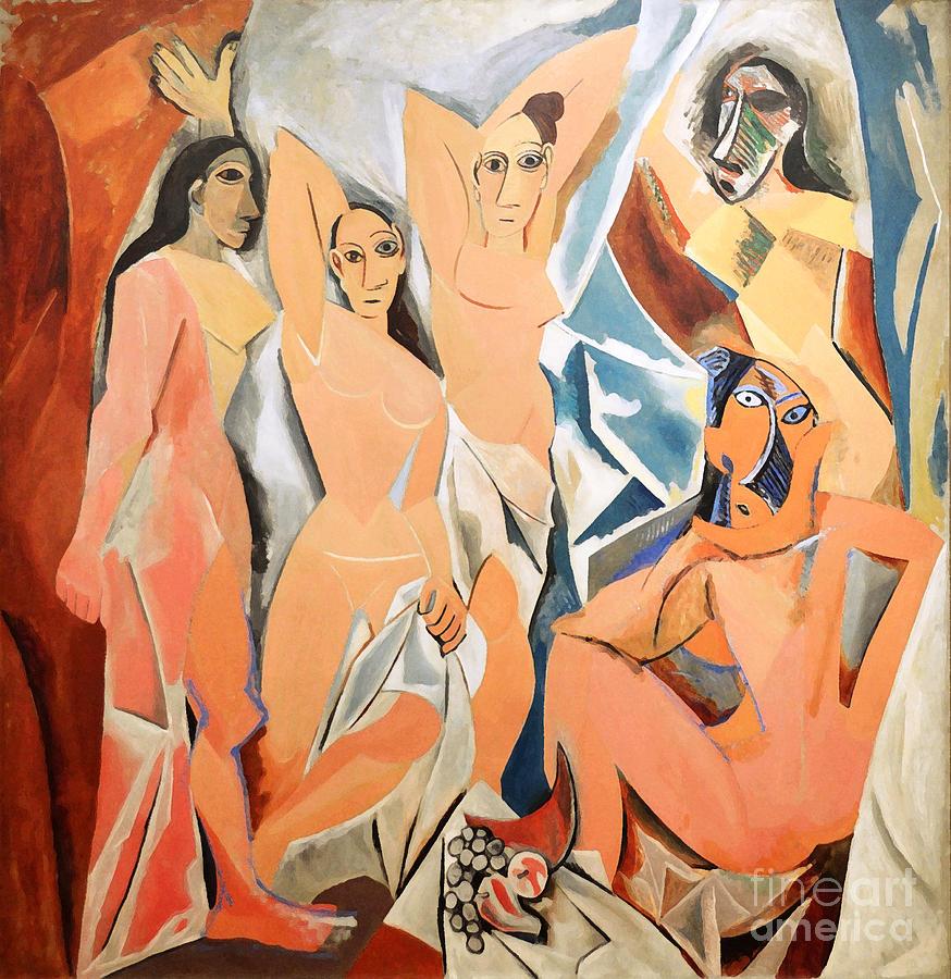 Picasso Photograph - Les Demoiselles Davignon Picasso by RicardMN Photography