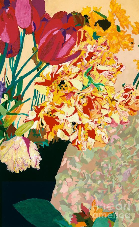 Les Fleur Painting