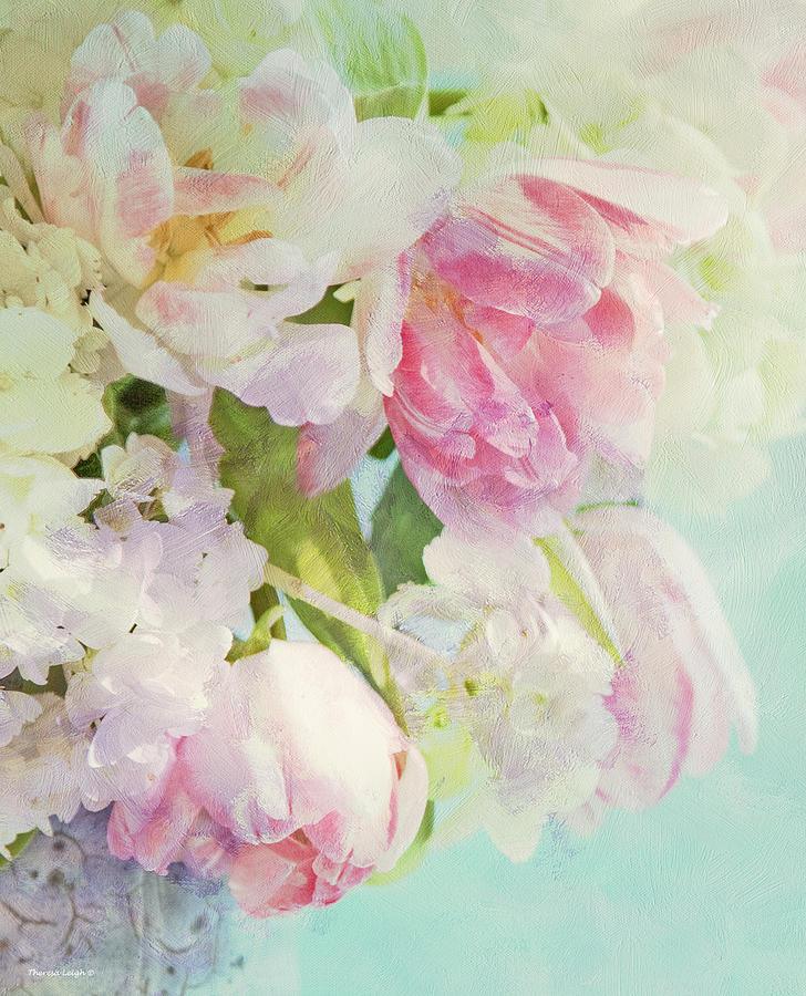 Bouquet Photograph - Les Fleurs by Theresa Tahara