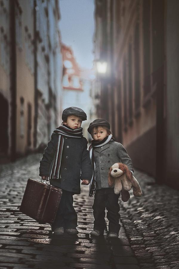 Boys Photograph - Les Misa?rables by Tatyana Tomsickova