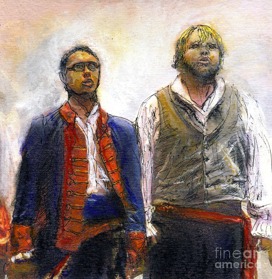 Drama Photograph - Les Miserables by Randy Sprout