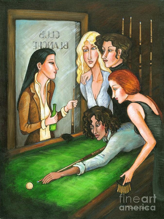 Lesbians in pookl