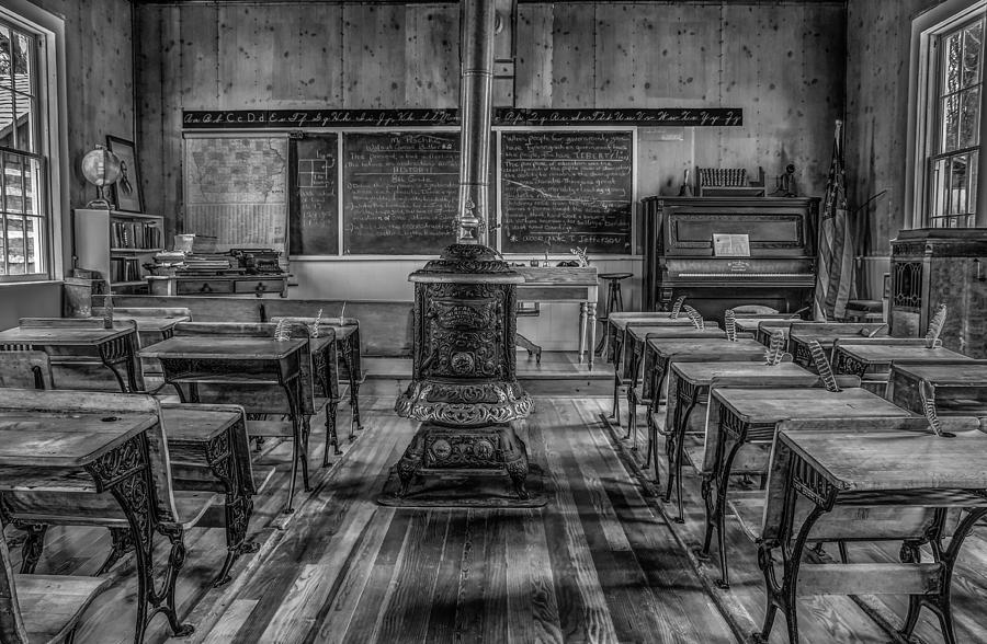 One Room School Photograph - Lesson Plan by Ray Congrove