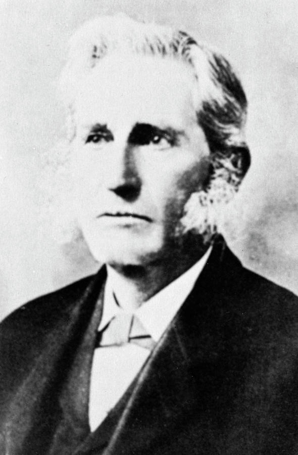 19th Century Photograph - Lester Frank Ward (1841-1913) by Granger