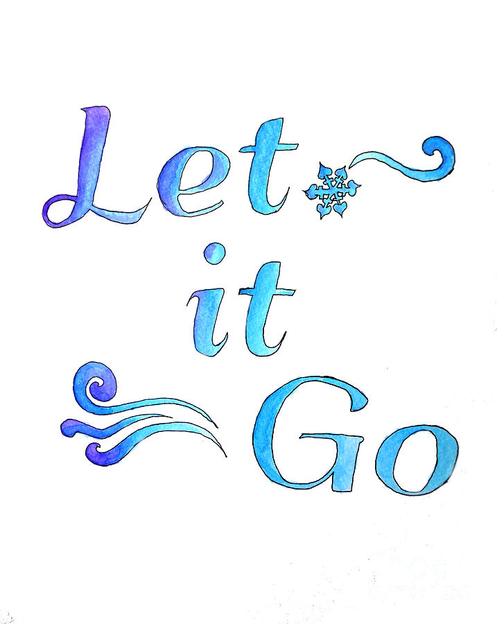 Let It go by Whitney Morton