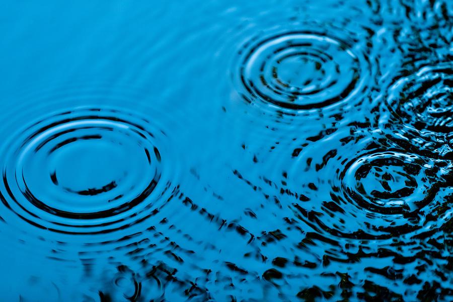 Rain Photograph - Let It Rain by Debi Bishop