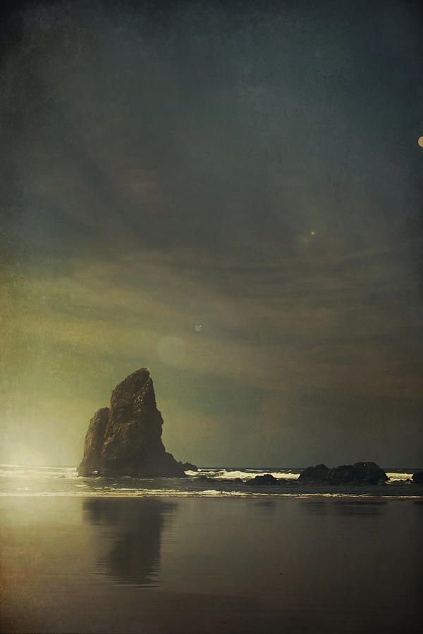 Cannon Beach Photograph - Let Love Shine Through by Laurie Search