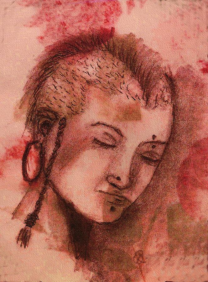 Girl Drawing - Let Me Be Me by Gail Schmiedlin