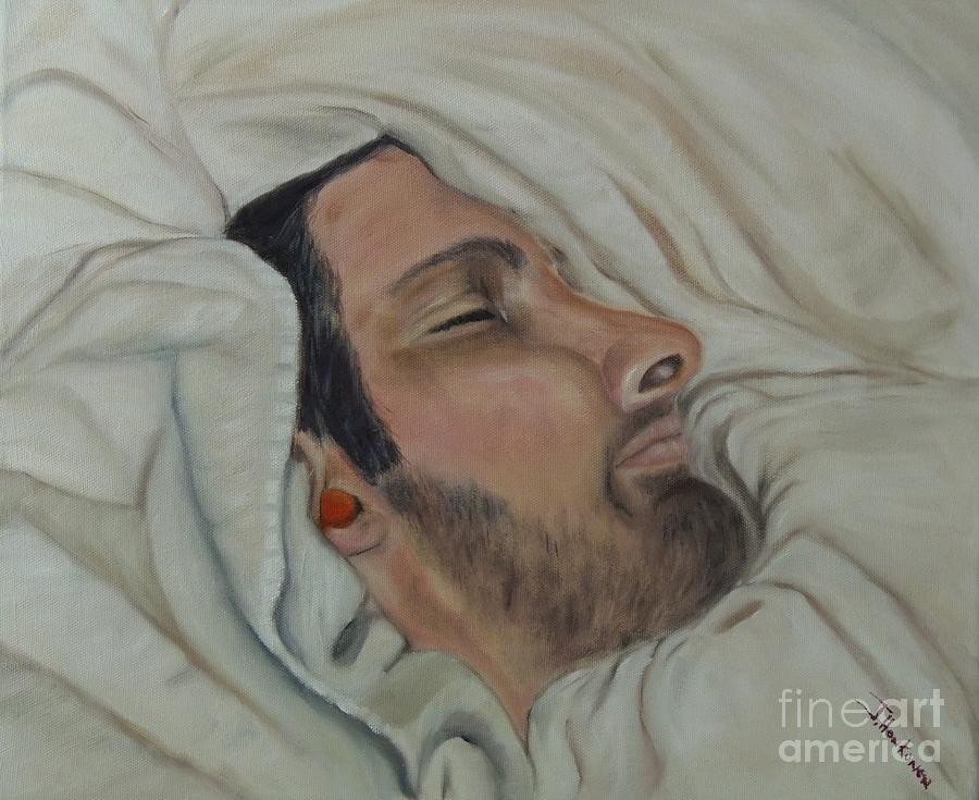 Sleeping Painting - Let Me Sleep by Isabel Honkonen