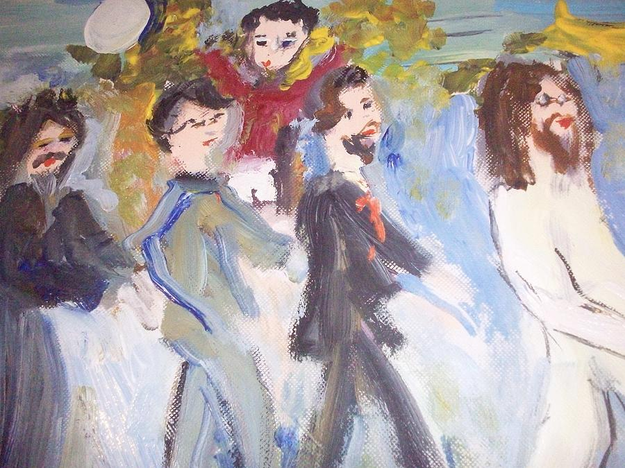 Beatles Painting - Let Me Take You There by Judith Desrosiers