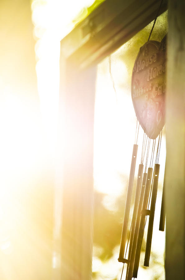 Door Photograph - Let The Light Shine In by Josh Clifford