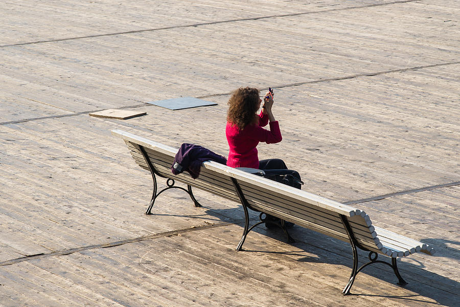 Alone Photograph - Let The Universe Wait - Featured 3 by Alexander Senin