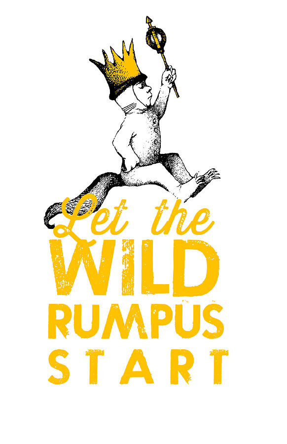 Sweet image throughout let the wild rumpus start printable