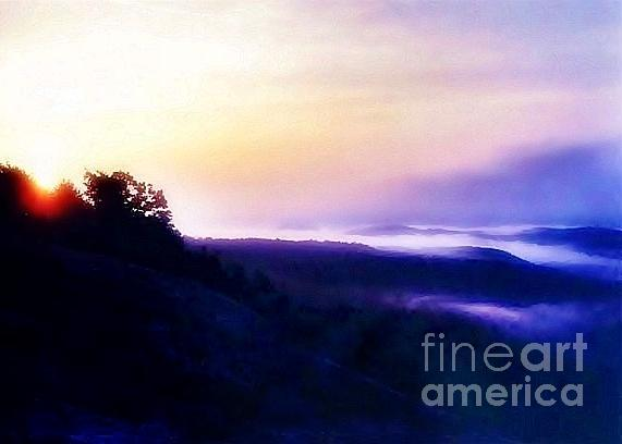 Sunrise Photograph - Let There Be Light - Greeting Card Only by Scott Allison