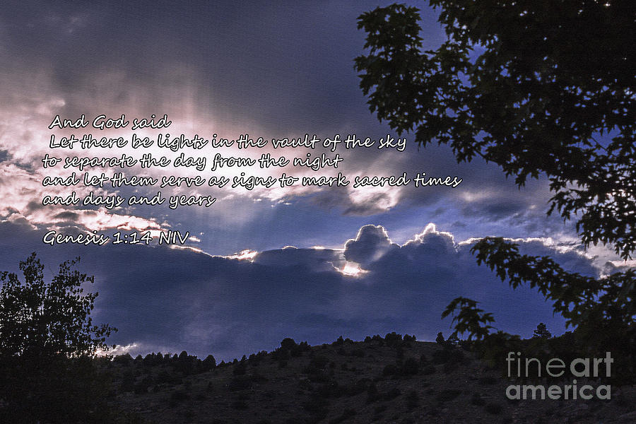 Sky Photograph - Let There Be Light by Janice Rae Pariza
