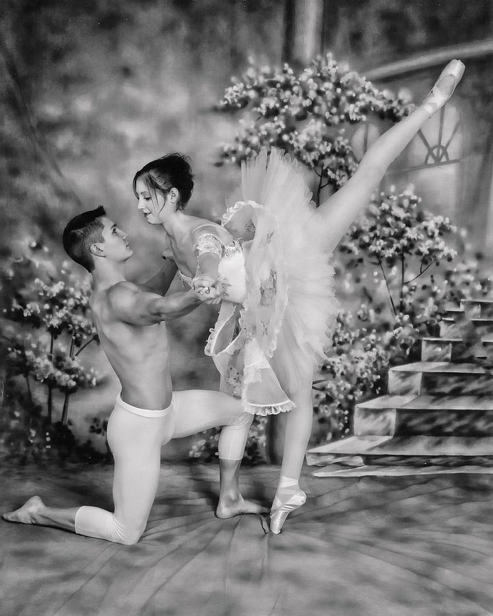 Ballet Dance Photograph - Lets Dance by Athala Carole Bruckner