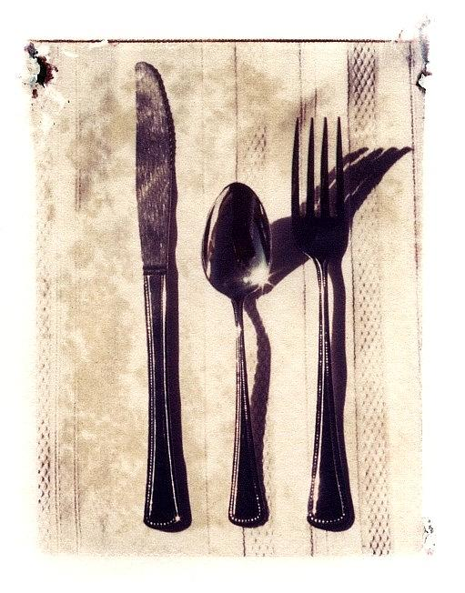 Forks Photograph - Lets Eat by Jane Linders