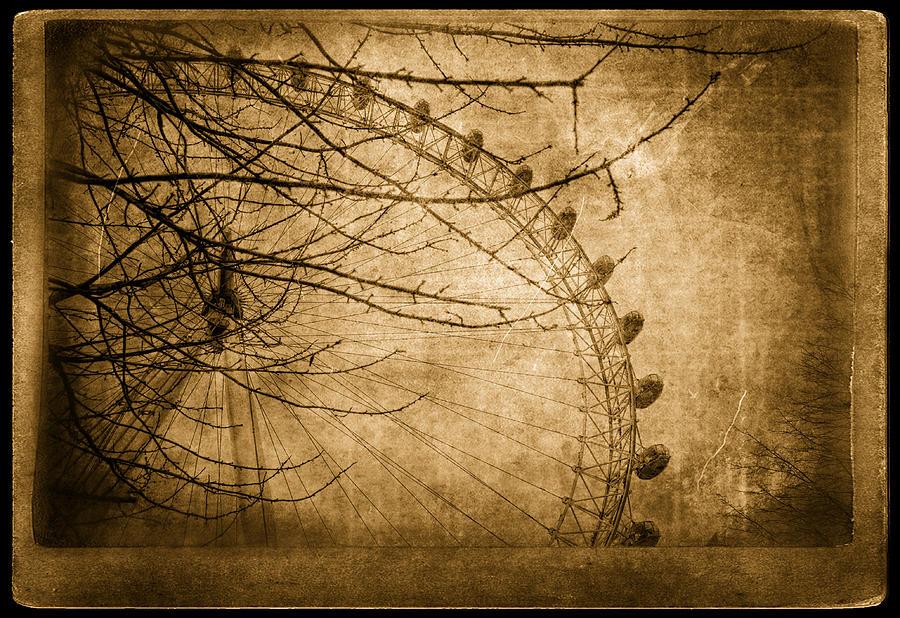 Big Ben Photograph - Lets Go Up by Vessela Banzourkova