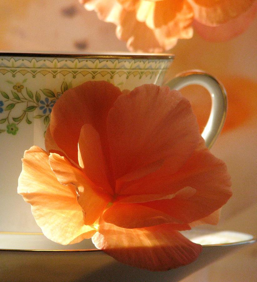 Tea Cup Photograph - Lets Have Tea by Angela Davies