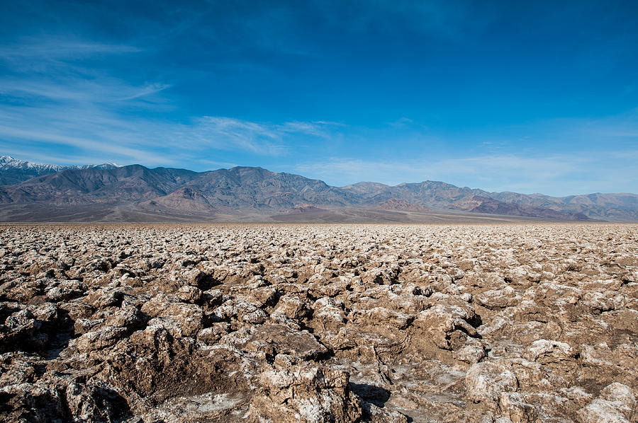 Death Valley Photograph - Lets Play Golf by George Buxbaum