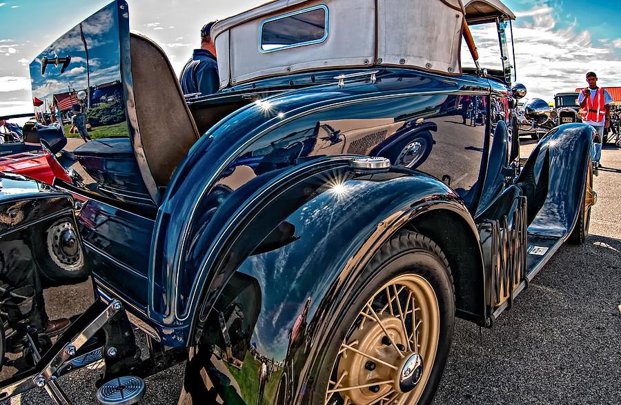 Ford Photograph - Lets Rumble by Steve Harrington