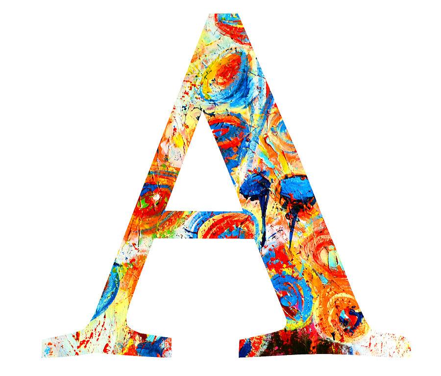 A Alphabet Letter