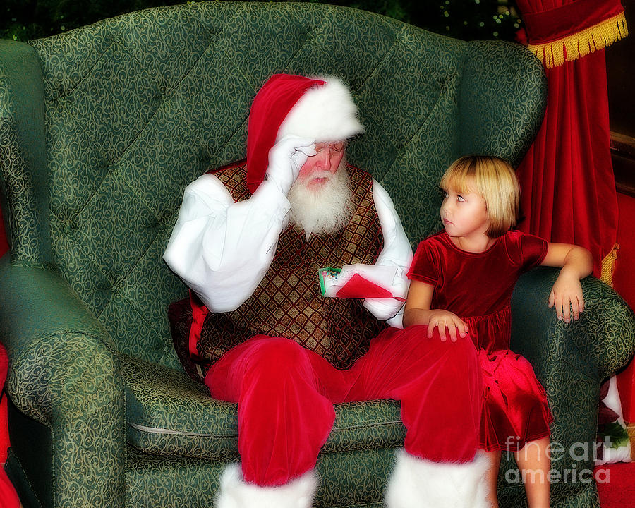 Letter To Santa Photograph - Letter To Santa by Eddie Yerkish