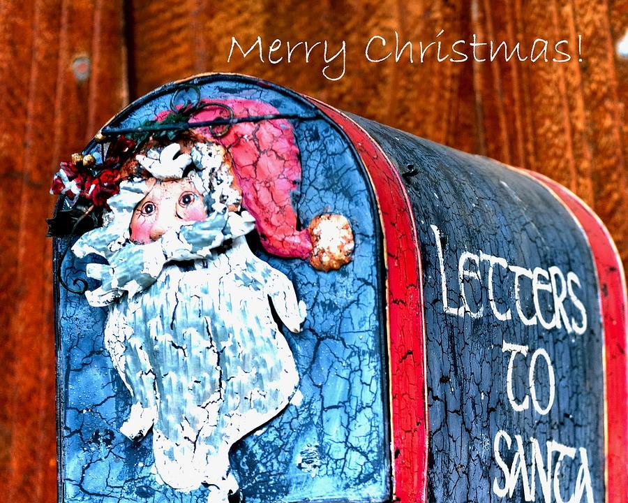 Letters To Santa  Text 20537 Copy Photograph