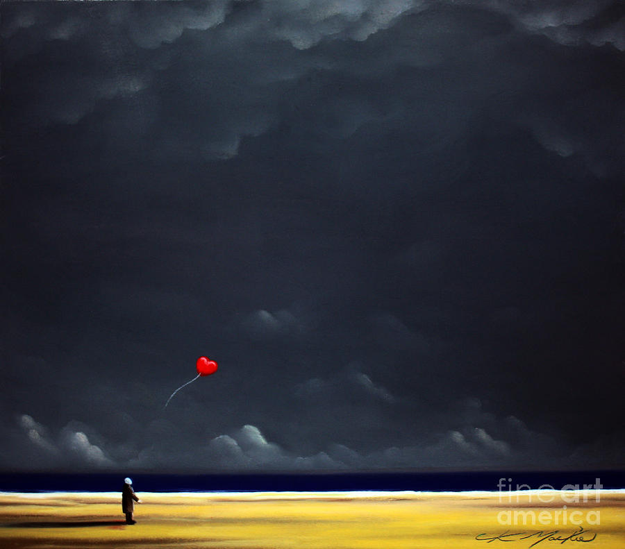 Passion Painting - Letting Go by Chris Mackie
