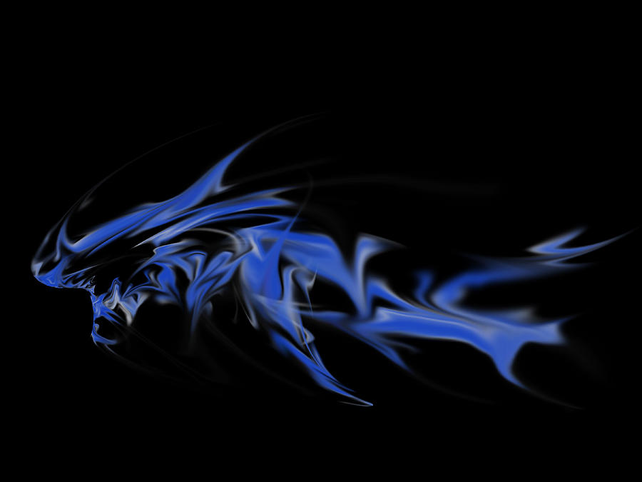 Dragon Digital Art - Leviathan by Matthew Angelo
