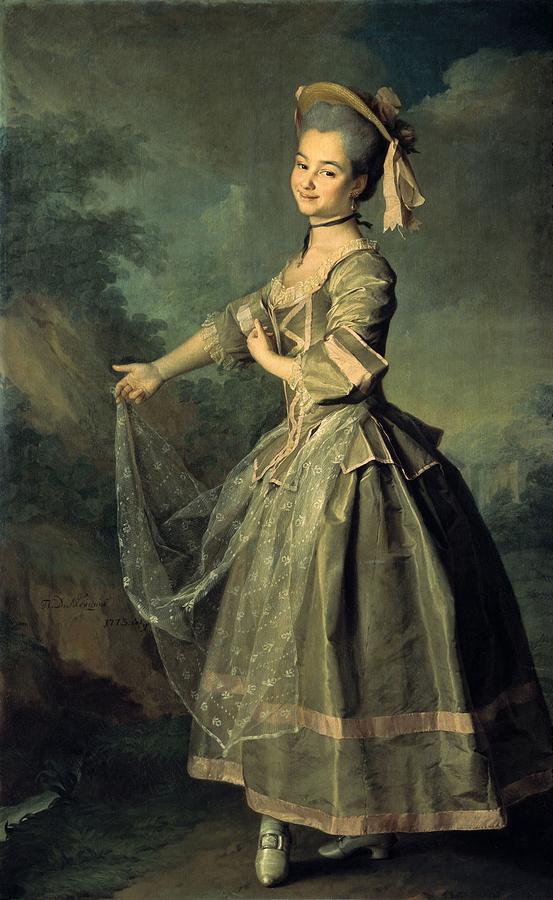 Vertical Photograph - Levitskidmitri Grigorievich 1735-1822 by Everett