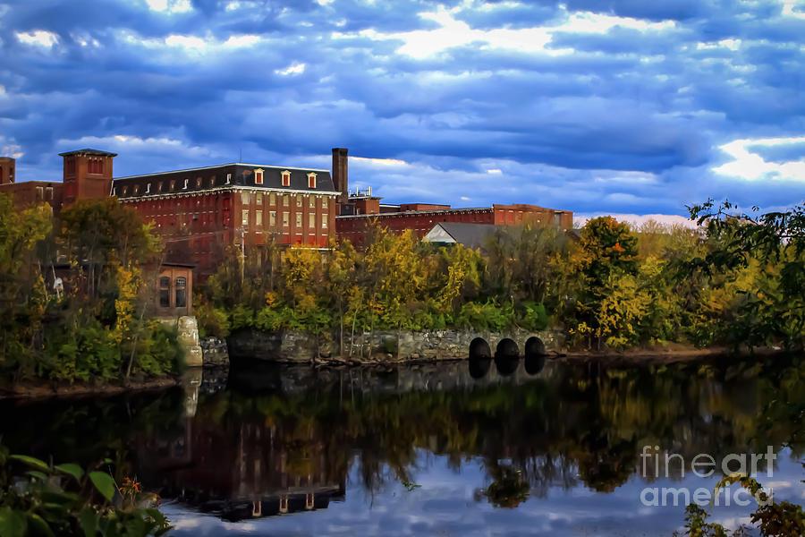 Lewiston Photograph - Lewiston Mill by Brenda Giasson