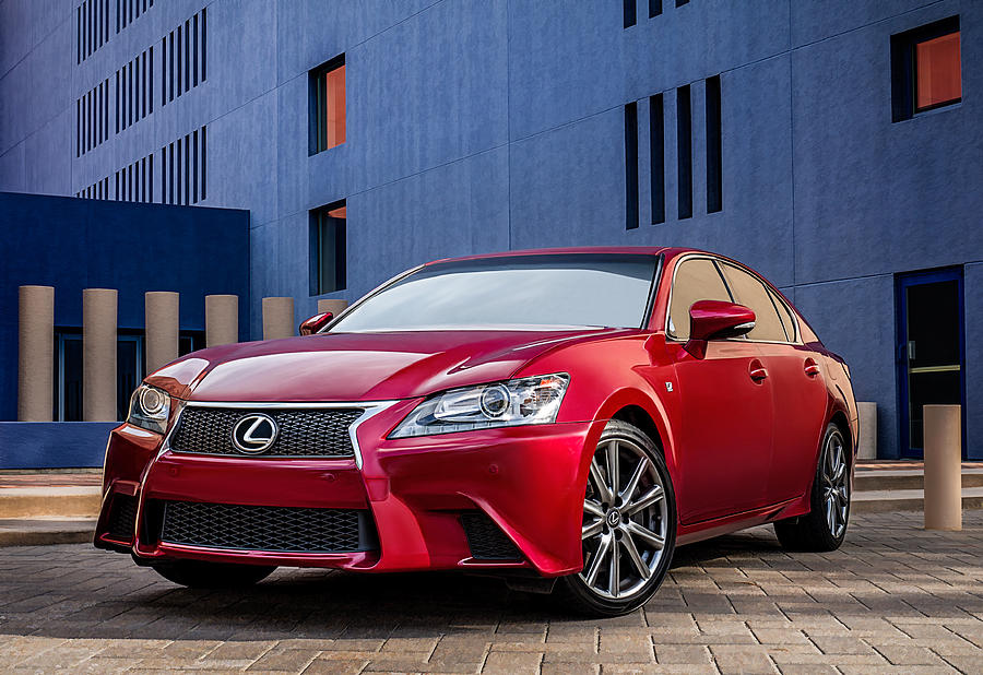 Lexus Digital Art - Lexus Gs350 F Sport by Douglas Pittman
