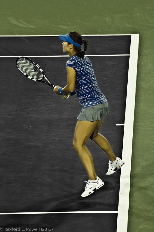 Li Na Photograph - Li Na by Rexford L Powell
