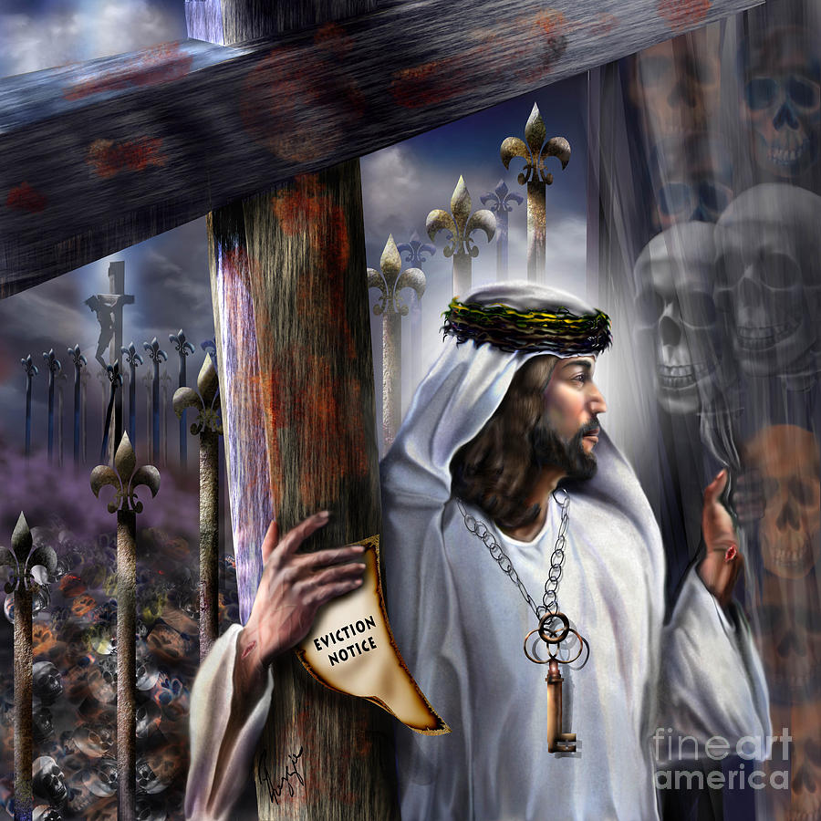 Jesus Painting - Liberation Beyond Comprehension1 by Reggie Duffie