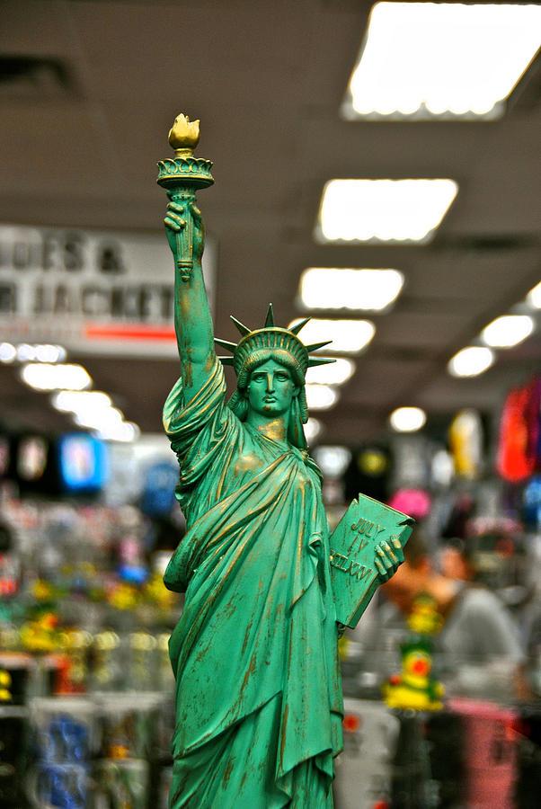 Liberty Photograph - Liberty by Gino Inocentes