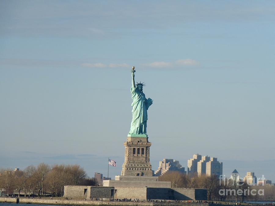 Liberty Photograph - Liberty Herself by Julie Koretz