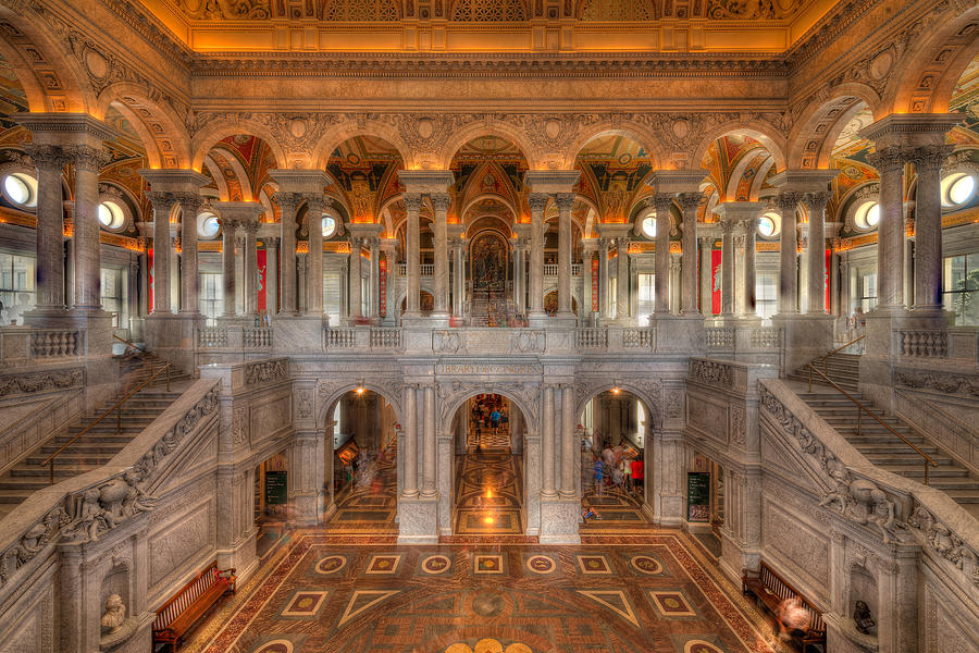 Library Of Congress Photograph - Library Of Congress by Steve Gadomski