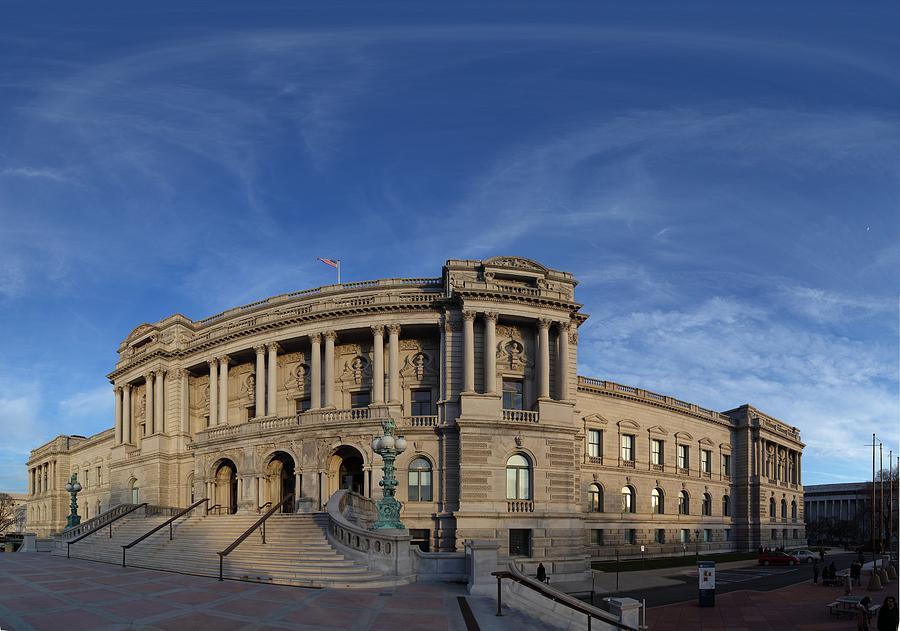 Washington Photograph - Library Of Congress - Washington Dc - 011324 by DC Photographer