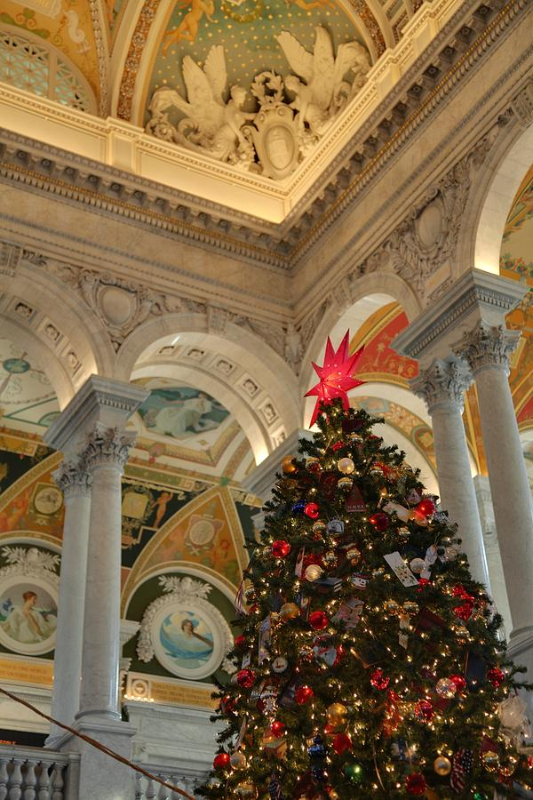 Washington Photograph - Library Of Congress - Washington Dc - 01139 by DC Photographer