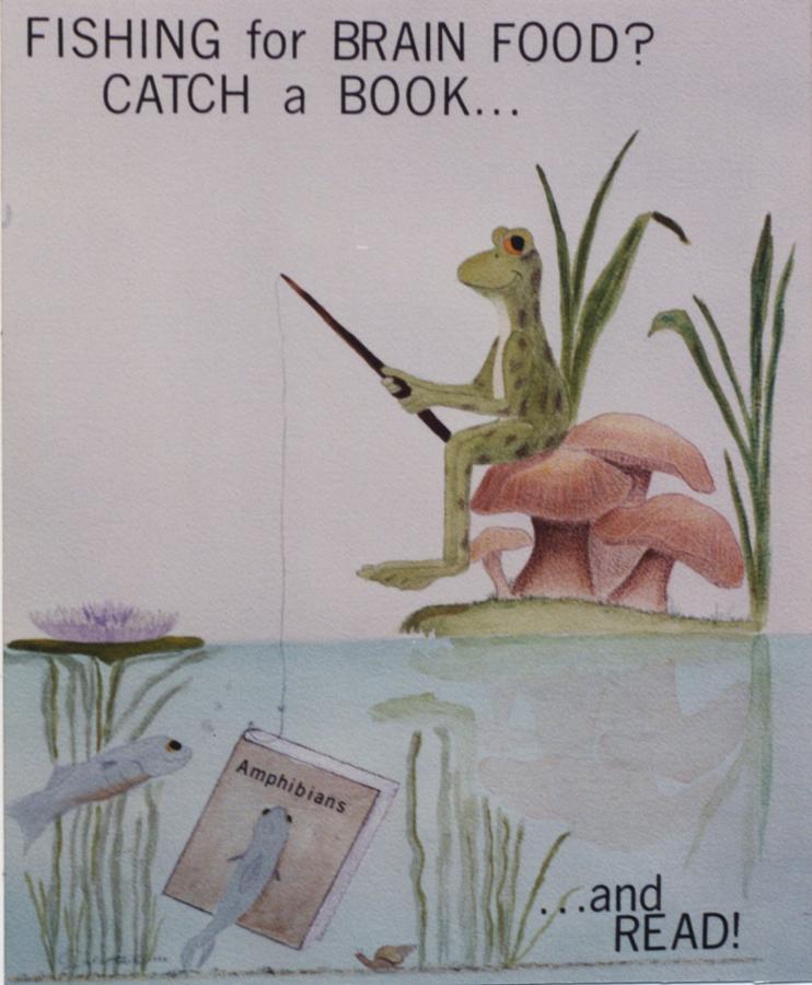 Library Poster by Barbara Gulotta