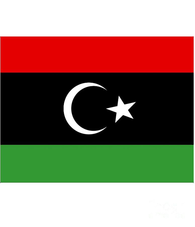 Libya Digital Art - Libya Flag by Frederick Holiday